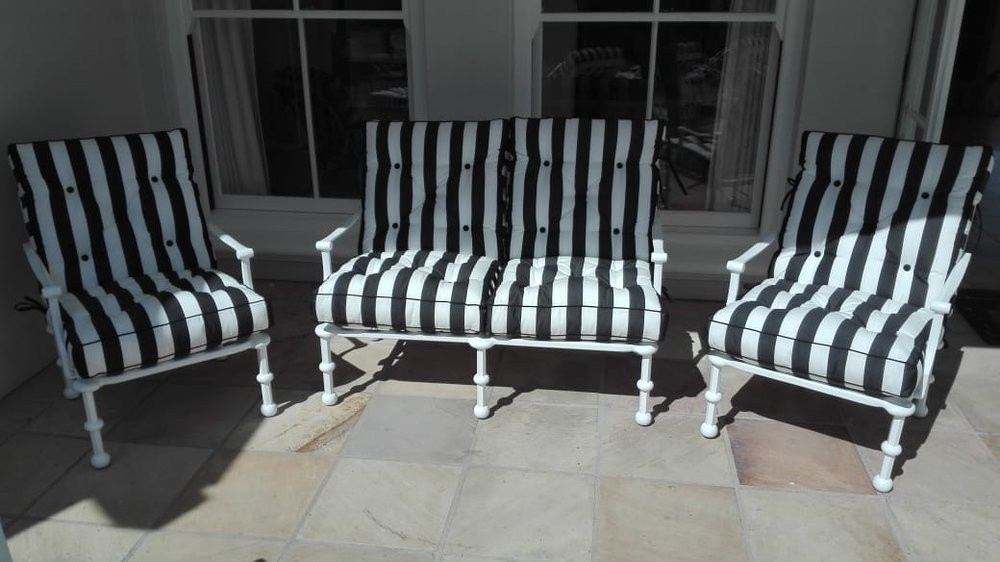 Majorca 1 and 2 seater lounger chairs