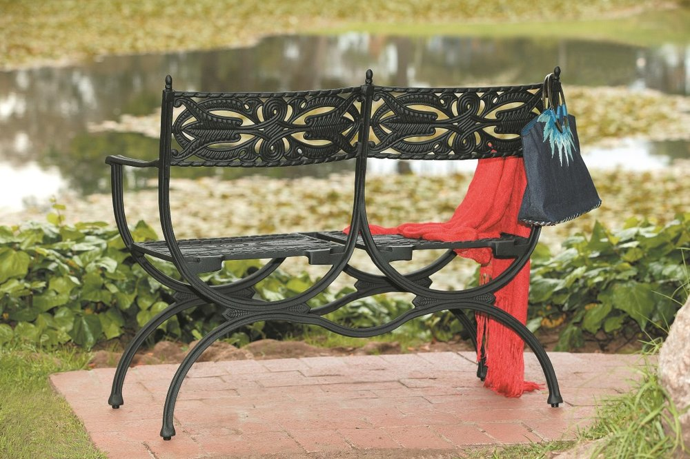 Pompei 2 seater bench