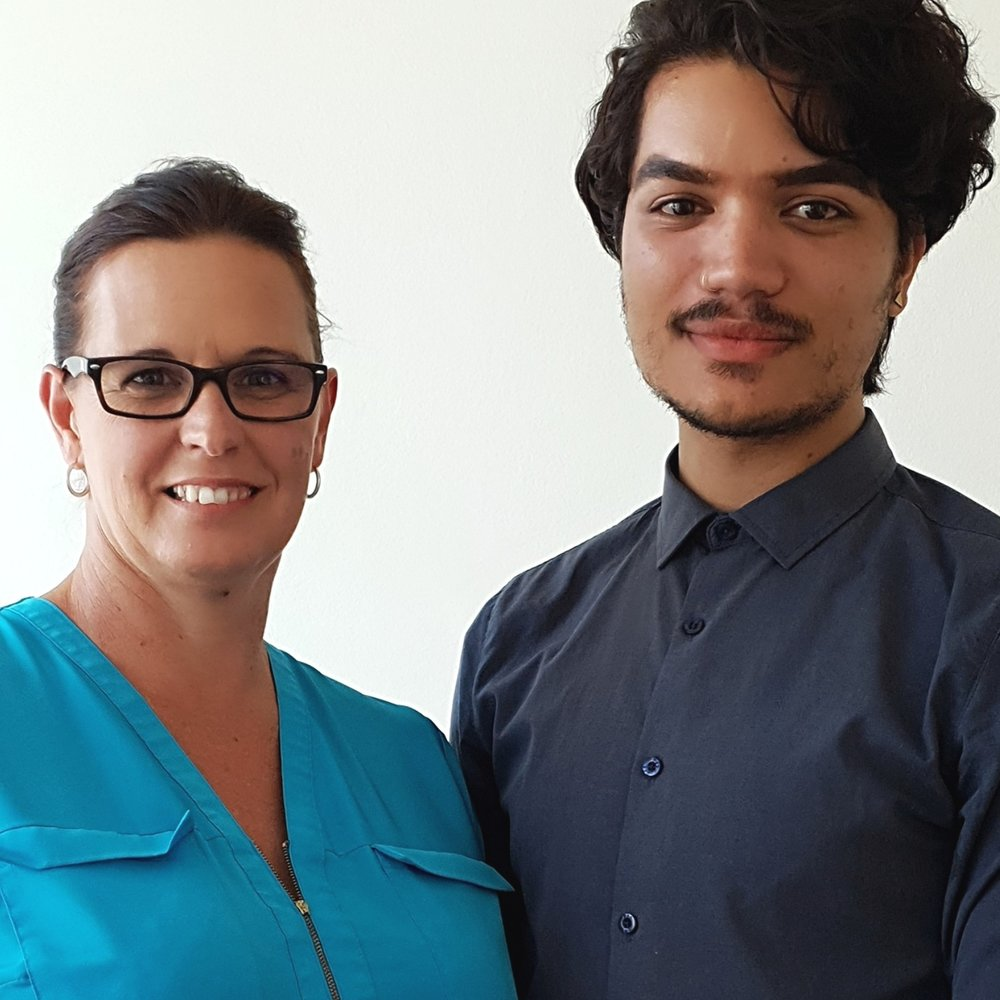 Sales Team - Geraldine de Jager & Jonathan Langtry