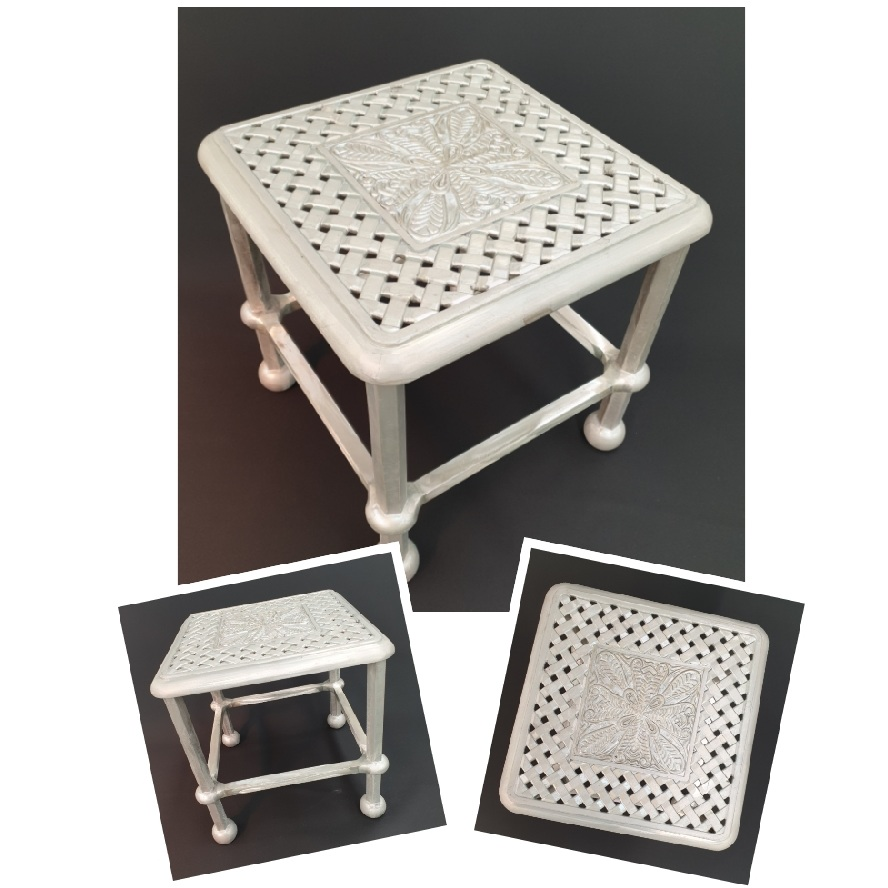 *NEW* Majorca 40cm side table with Olympus top