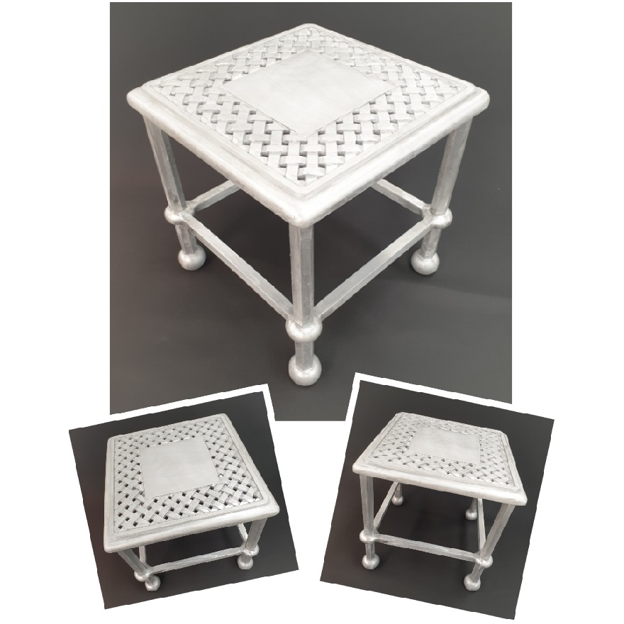 *NEW* Majorca 40cm side table with Verona top