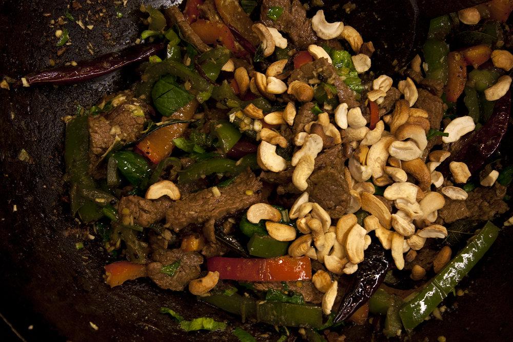 kerala beef stir fry -