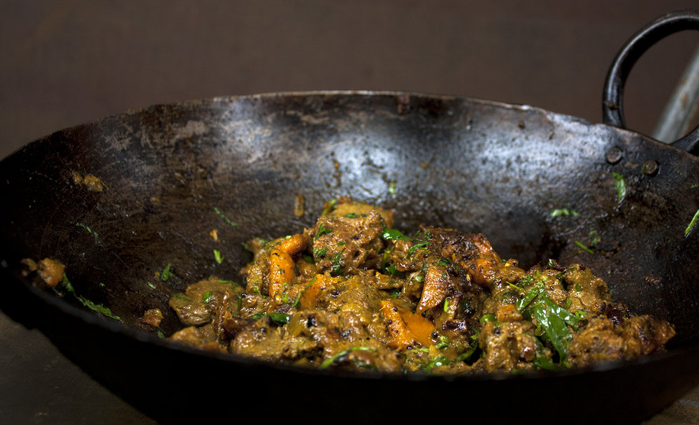 Syrian beef stir fry -