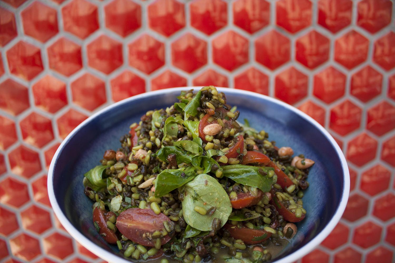 Black Lentil Salad India1948