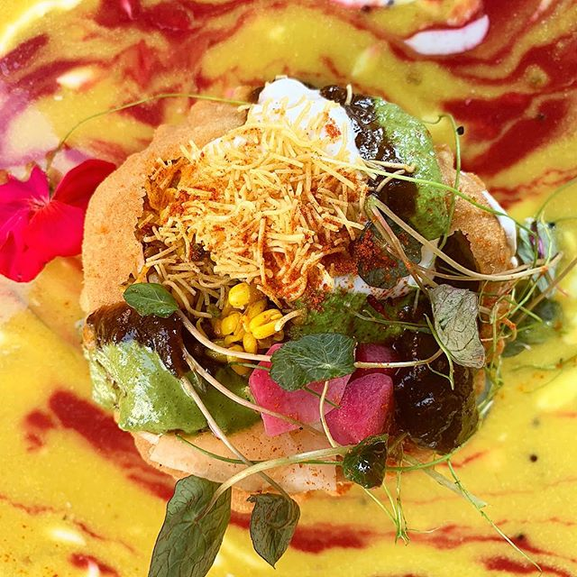 HAPPY HOLI! Festival of joy, color and new beginnings is here…Presenting the Queen Kachori. If you like chaat, you will LOVE this. Special starting tonight..