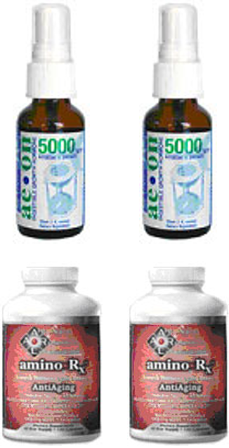 Buy 2 AEON 5000 Physician Strength Oral Spray... Get 2 Amino Rx Free -