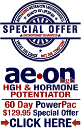 AEON & Amino Rx - Omega 3 supplements