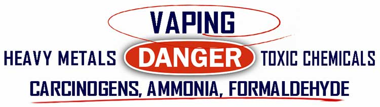 Vaping heavy metals toxic chemicals