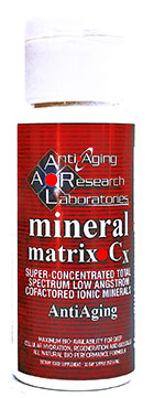 Mineral matrix Anti aging Supplement