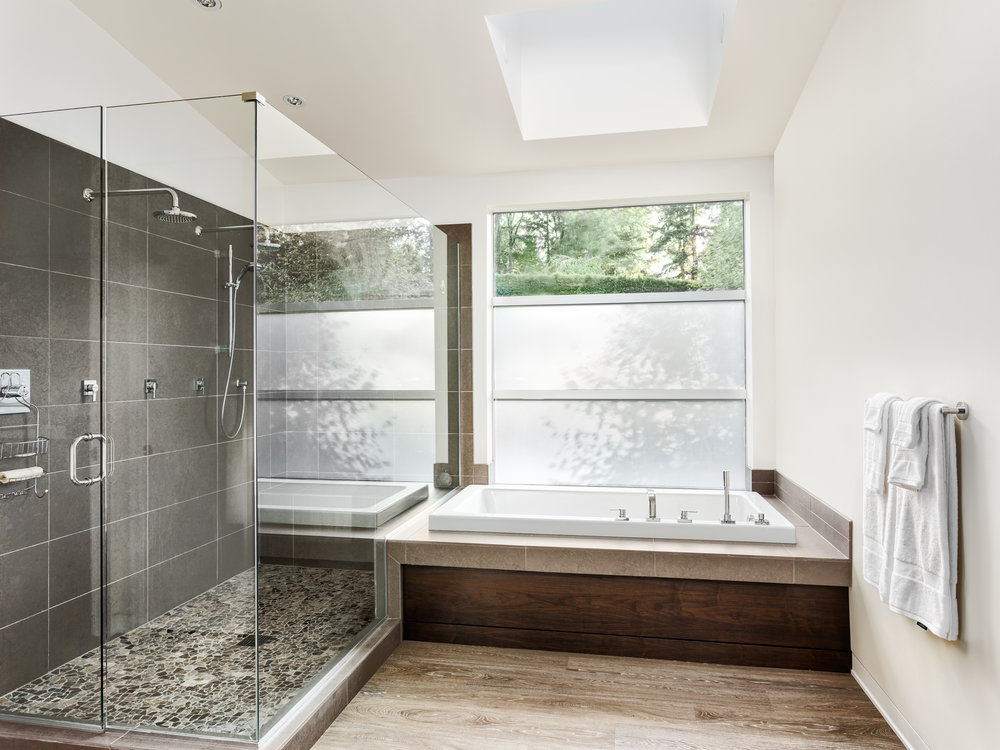 STUNNING BATHROOM DESIGN - Outdated bathrooms are one of the biggest barriers to fast sales. The best way to improve the saleability of your property is to remodel the existing bathroom within. Updating the bathroom is a sure-fire way to instantly add value to your investment, attract a multitude of interested buyers, and ensure a speedy sale. We provide expert guidance on layout and design, tile design, finishes, cabinetry, plumbing, fixture selection, paint color, and much more.