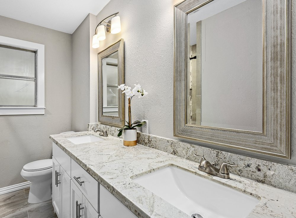 STUNNING BATHROOM DESIGN - Outdated bathrooms are one of the biggest barriers to fast sales. The best way to improve the saleability of your property is to remodel the existing bathroom within.Updating the bathroom is a sure-fire way to instantly add value to your investment, attract a multitude of interested buyers, and ensure a speedy sale. We provide expert guidance on layout and design, tile design, finishes, cabinetry, plumbing, fixture selection, paint color, and much more.