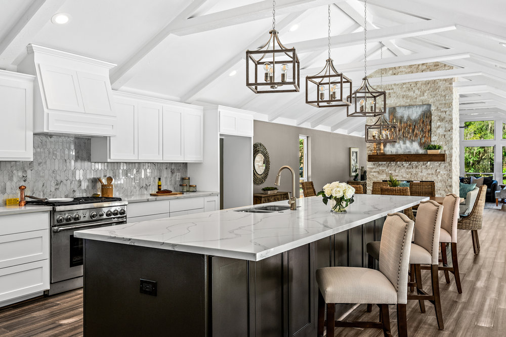 Briar Drive Flip, Kitchen Design by REI Design Solutions. Investor: HAW Investments, LLC