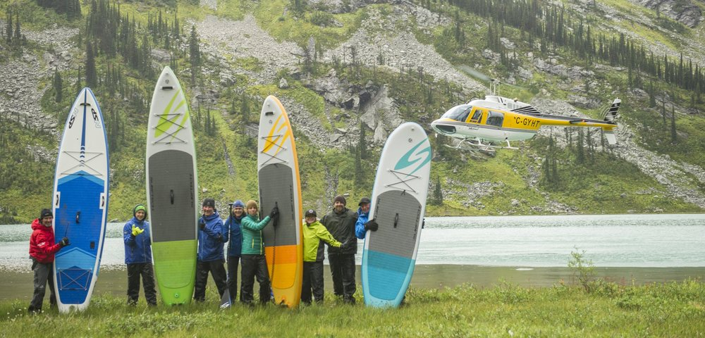SURFTECH BLOG - 10 QUESTIONS - HELI SUP TRIPS WITH BODIE SHANDRO