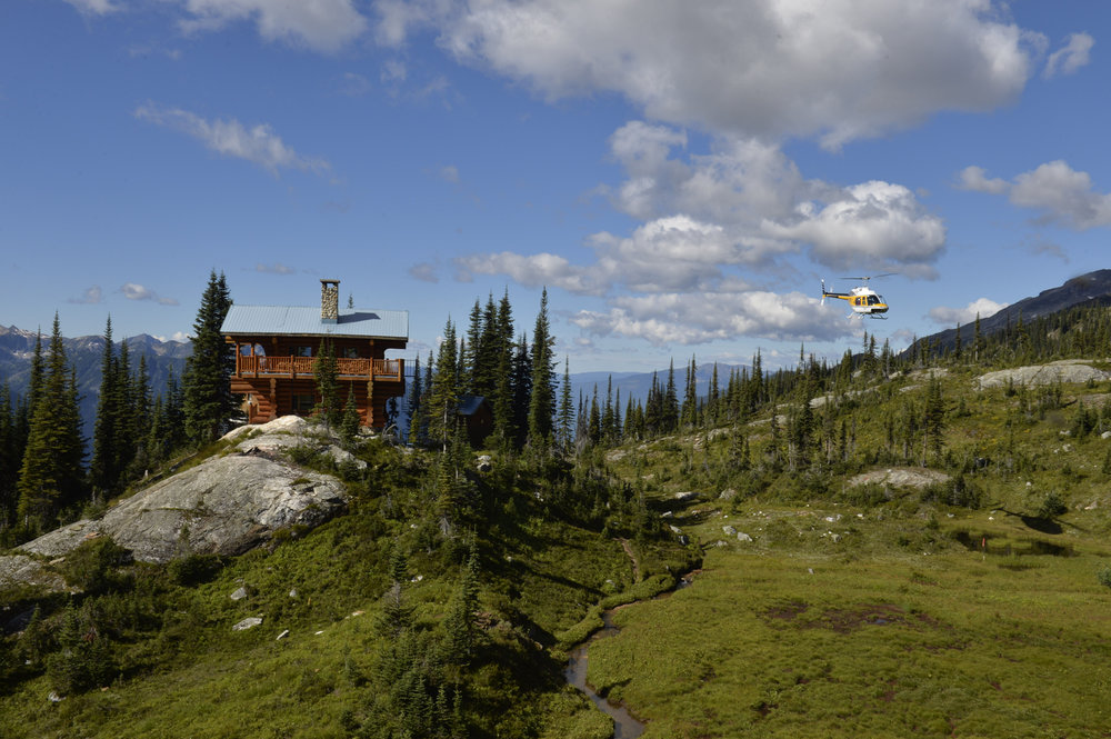 Grizzly Hut Tour - 30 Minutes. Undeniably the most spectacular way to see the alpine scenery of the Monashee Mountains. Travel between breathtaking peaks and glaciers on our way to the Grizzly Hut, a remote cabin located at an alpine meadow 6000ft above sea level.$719 plus tax (per helicopter - up to 4 people)