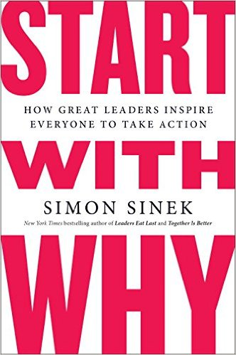 Start With Why,  by Simon Sinek   Business