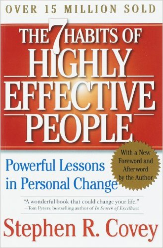 The 7 Habits of Highly Effective People,  by Stephen Covery   usiness