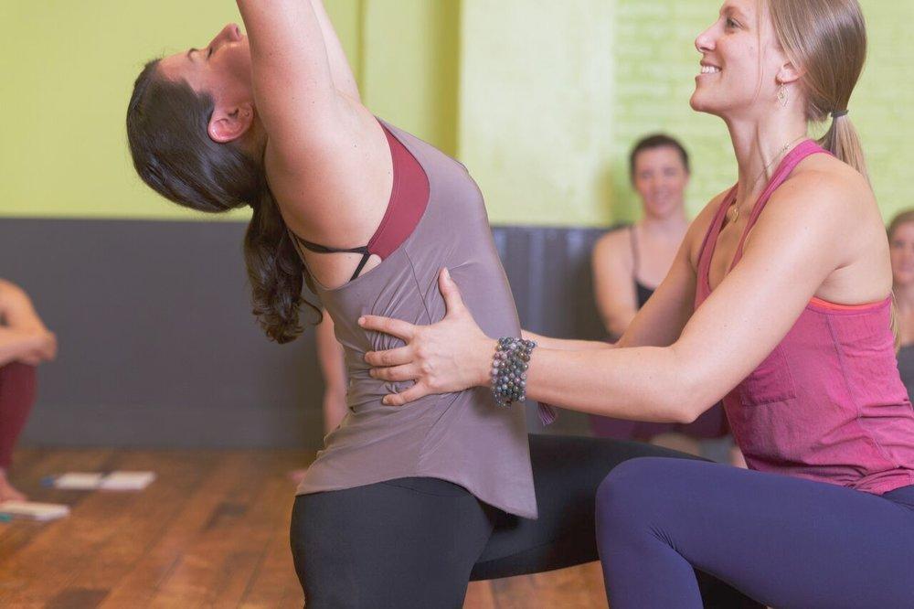 Yoga Teacher Development. - Benefitting dedicated yoga students.