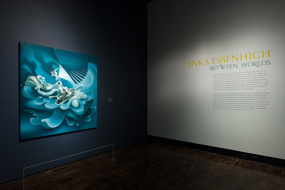 Inka Essenhigh: Between Worlds | The Frist Center for the Arts