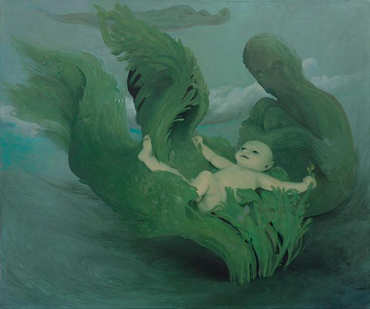 The Frond, 2011, Oil on canvas, 30 x 36 inches