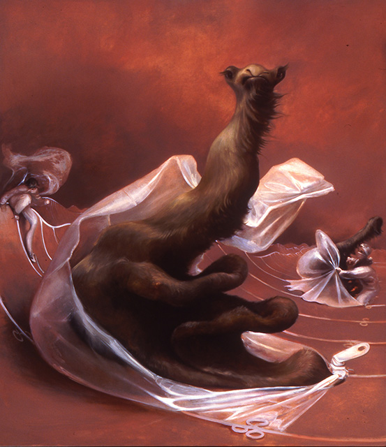 Brand New Camel, 2004, oil on linen, 70 x 62 inches