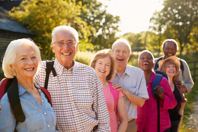 Senior couples
