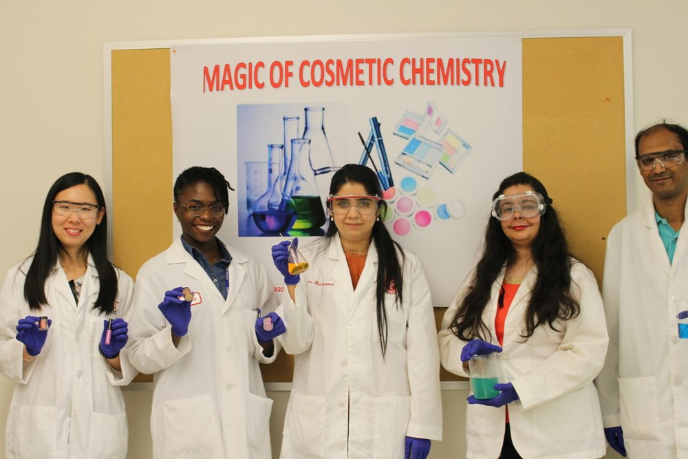 Magic of Cosmetic Chemistry workshop - Summer Science Enrichment Workshop grades 9-12Saturday, June 24, 2017Location: University of CincinnatiCollege of PharmacyMedical Science Building( MSB)231 Albert SabinWay E801C (near Subway restaurant)Time: 9 a.m. until noonSpace is limited so apply early.Application deadline is June 22, 2017RSVP To: Karen Henry: karen.henry@uc.eduOr call: 513 558-6172