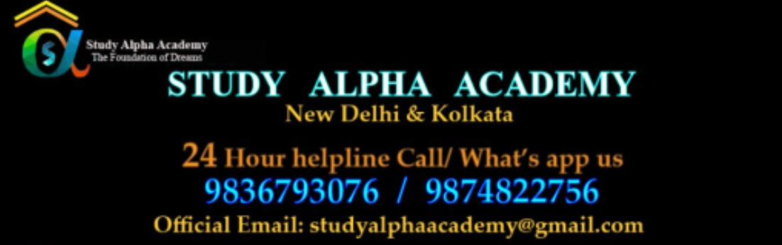 Welcome To Study Alpha Academy