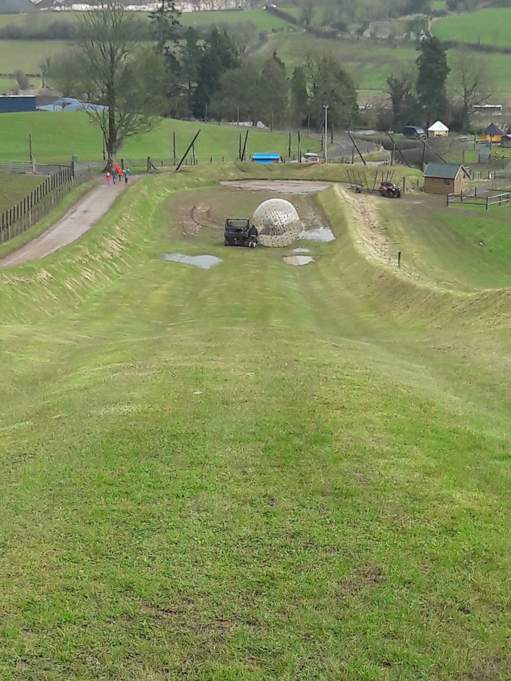 zorbing at bottom of hill.jpg