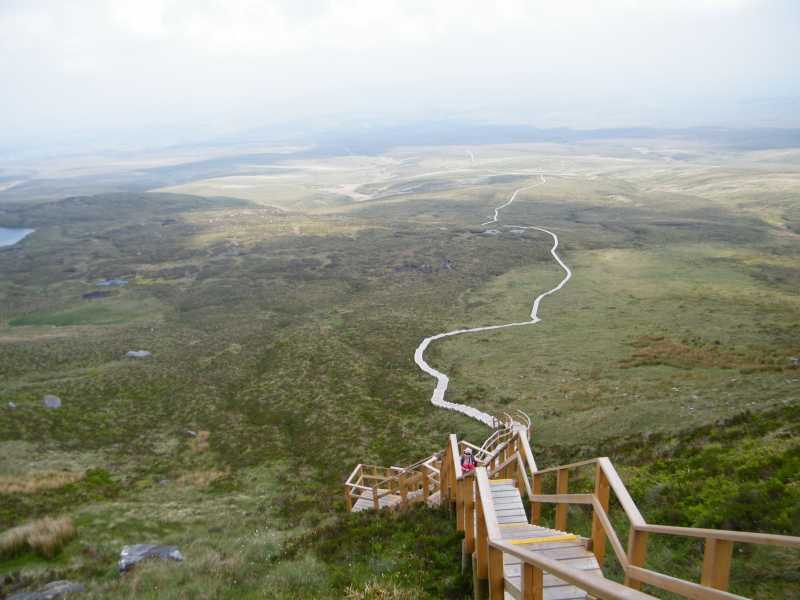 Cuilcagh Mountain Boardwalk - Stairway to Heaven
