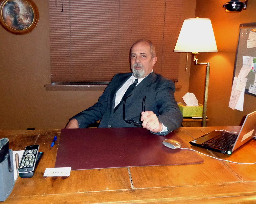 at desk 4
