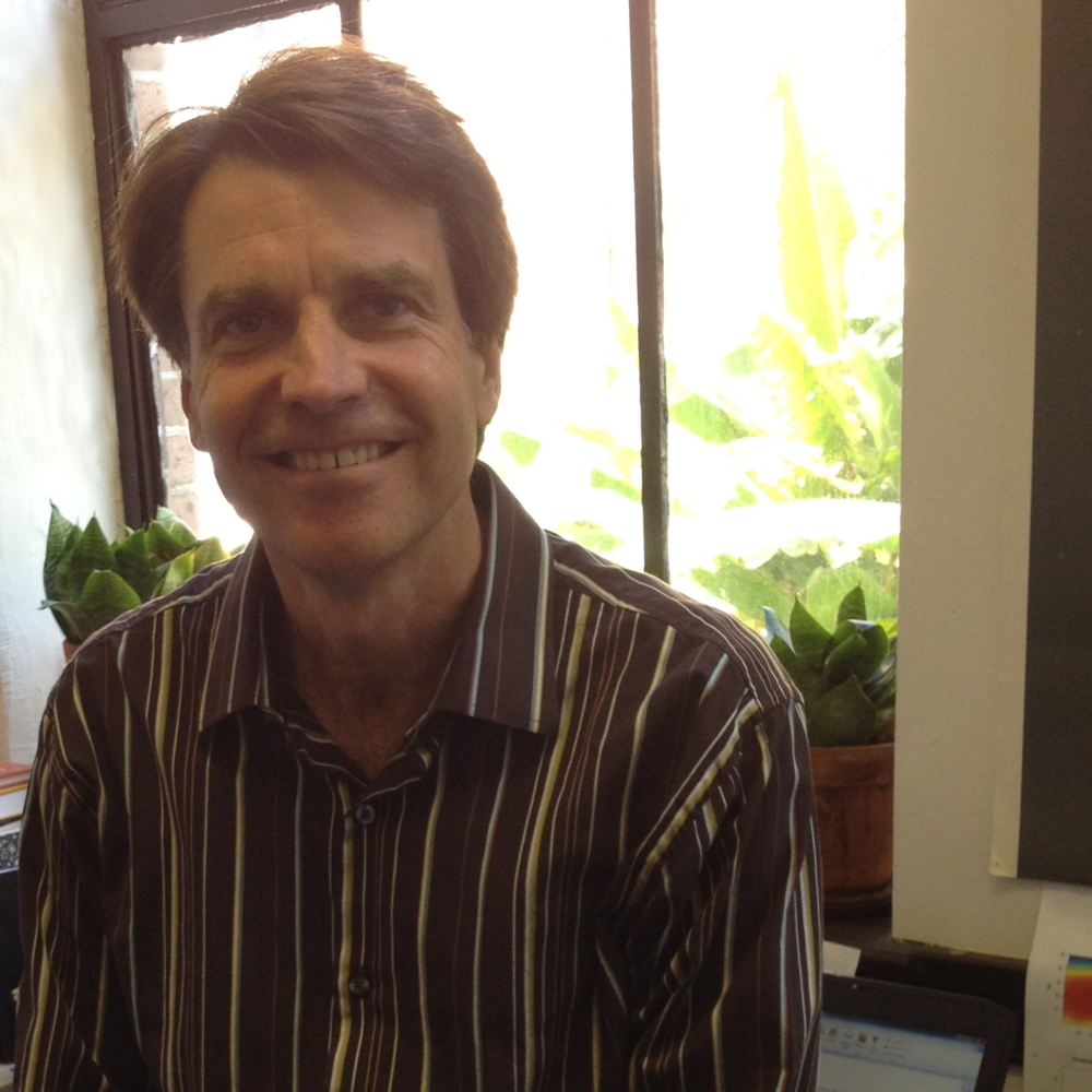 Brian Marx, in his office at Louisiana State University