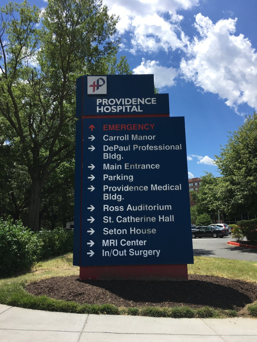 Providence Hospital - .4 miles