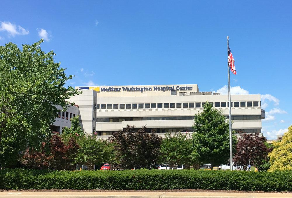 MedStar Washington Hospital Center - 2 miles