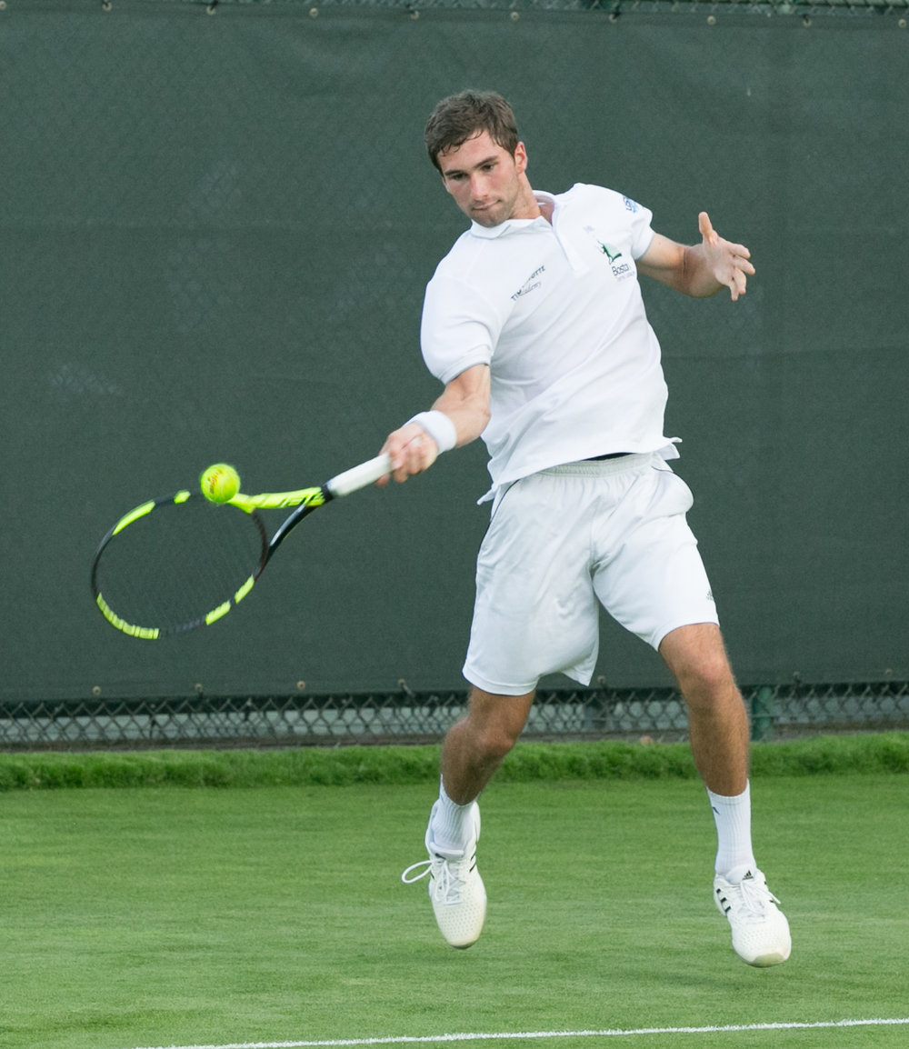 Catalin Mateas - Former New England #1 and Top 10 in the country, currenty plays 1 singles for Duke University