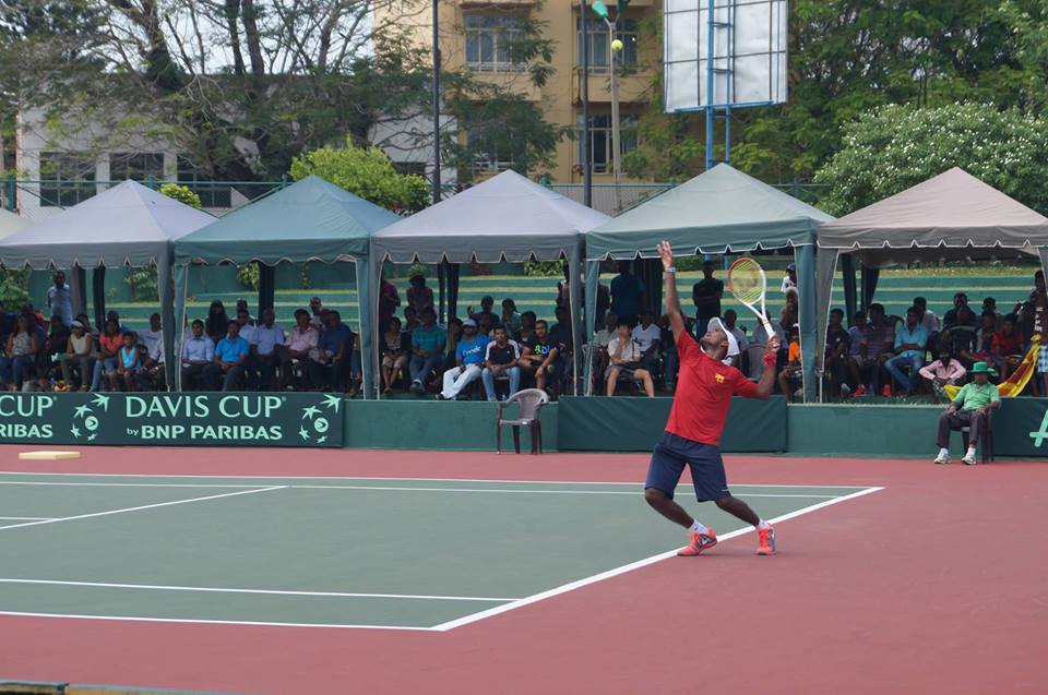 Harshana Godamanna - Member of the Sri Lankan Davis Cup team, achieved a highest ATP ranking of 800 in the world