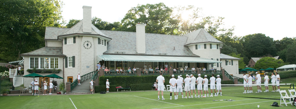 Longwood Cricket and Racket Club - Founded in 1877, Longwood Cricket Club has played a pioneering role in the evolution of tennis. Originally a cricket club, its members took up lawn tennis, began organizing regional tournaments, and completed a move to its current Chestnut Hill location in 1922.