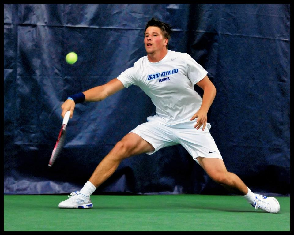 Niko Bubnic  - Achieved a top 750 singles ranking and top 800 doubles ranking during his time on tour, #1 singles for the University of San Diego, achieving player of the year and all conference selection during his career