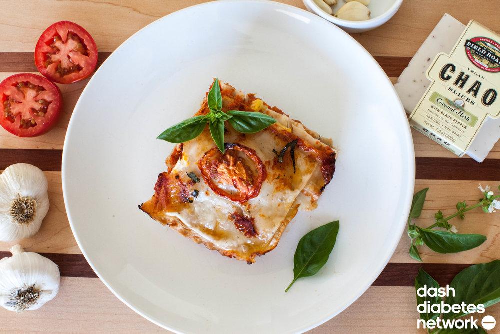 Vegan vegetable lasagna dash diabetes network forumfinder Images
