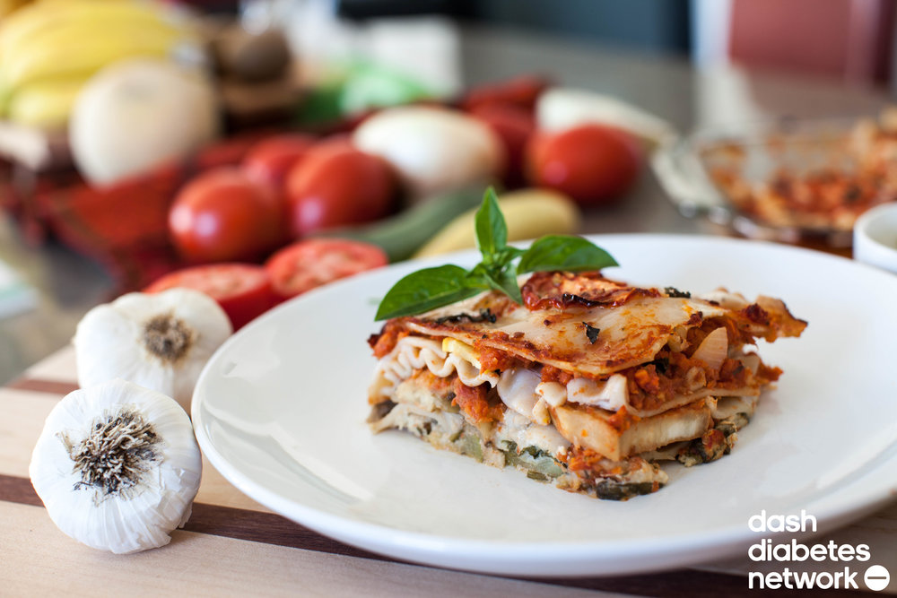 Vegan vegetable lasagna dash diabetes network last night i made the family a delicious layered vegetable lasagna and it was a hit now i want to share this recipe with you after dame and i watched the forumfinder Choice Image