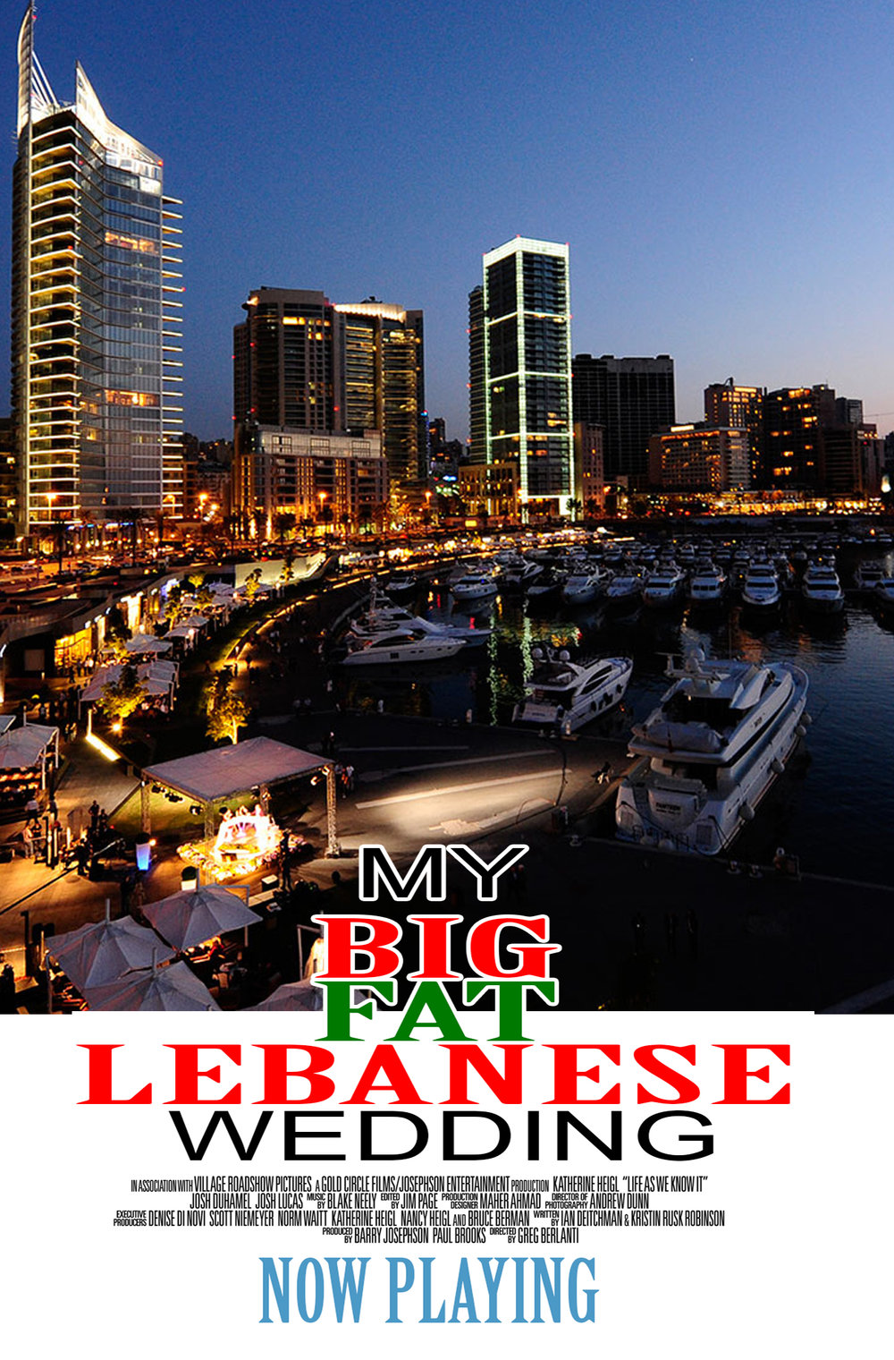 My Big Fat Lebanese Wedding