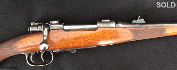 Single Square Bridge Mauser Sporting Rifle SOLD