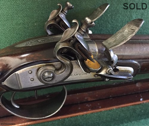John Manton Double Barrel Sporting Gun SOLD