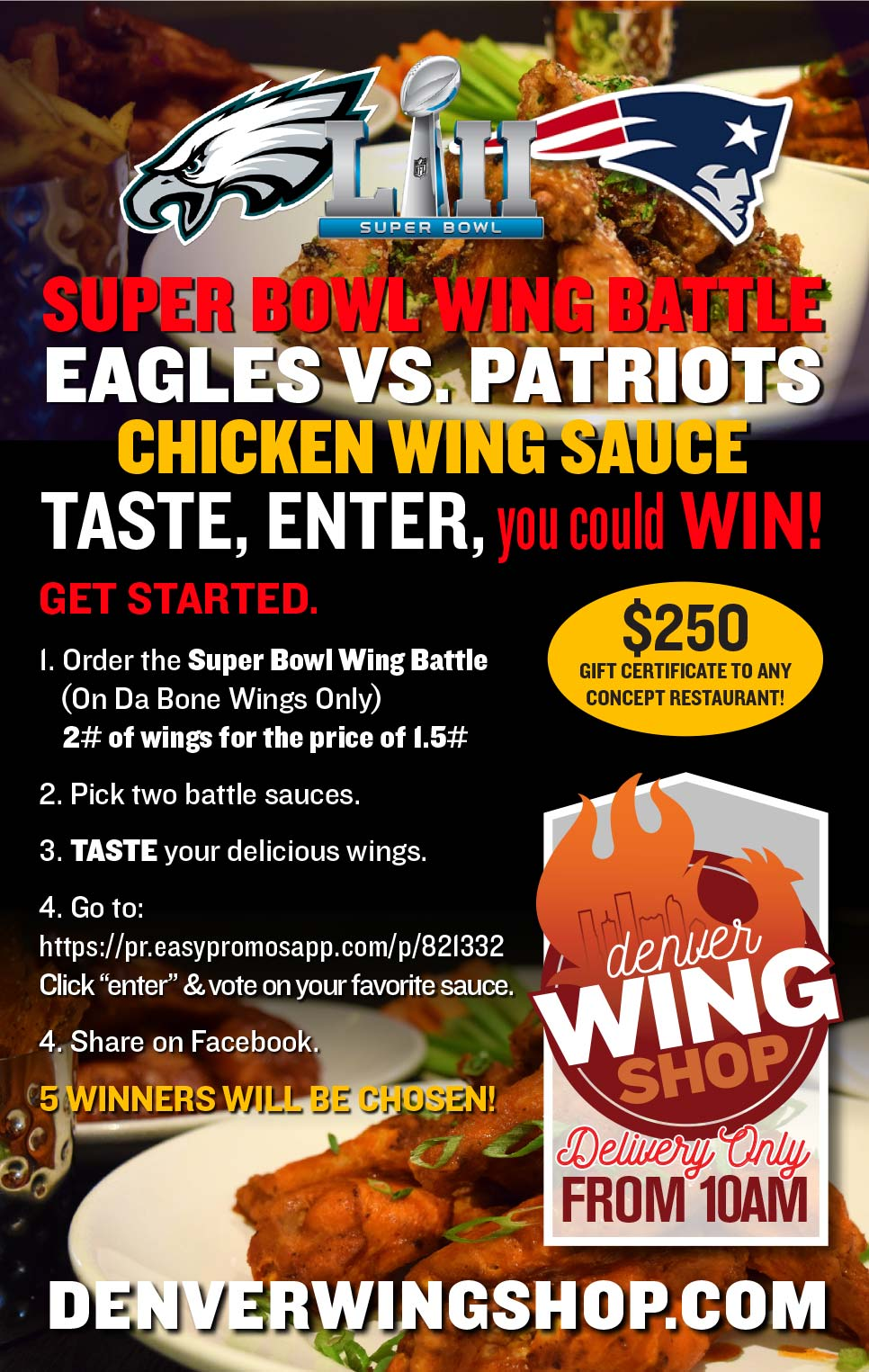 Super Bowl Wing Battle