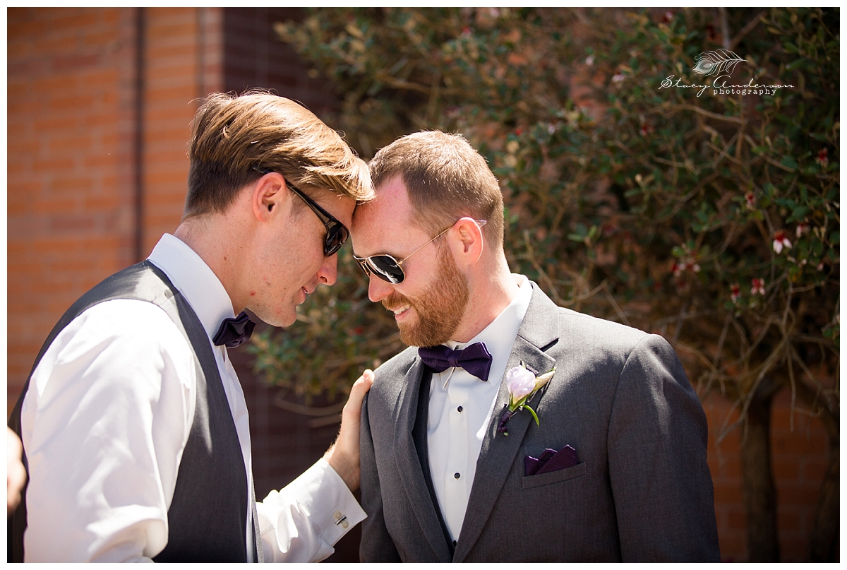 Everyone wanted to do this pose - even the groomsmen!