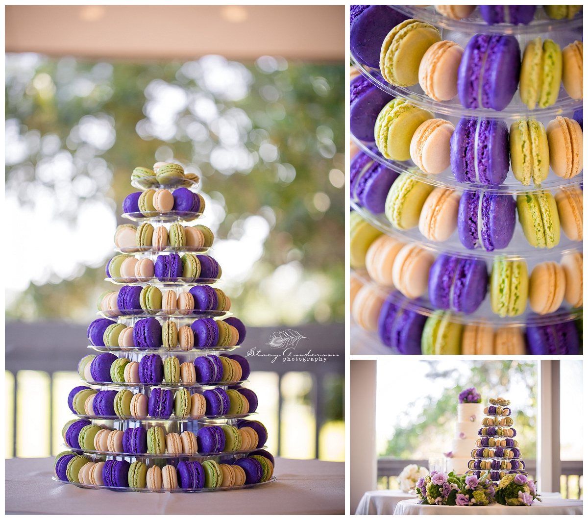 I love this new trend of having macarons at weddings!