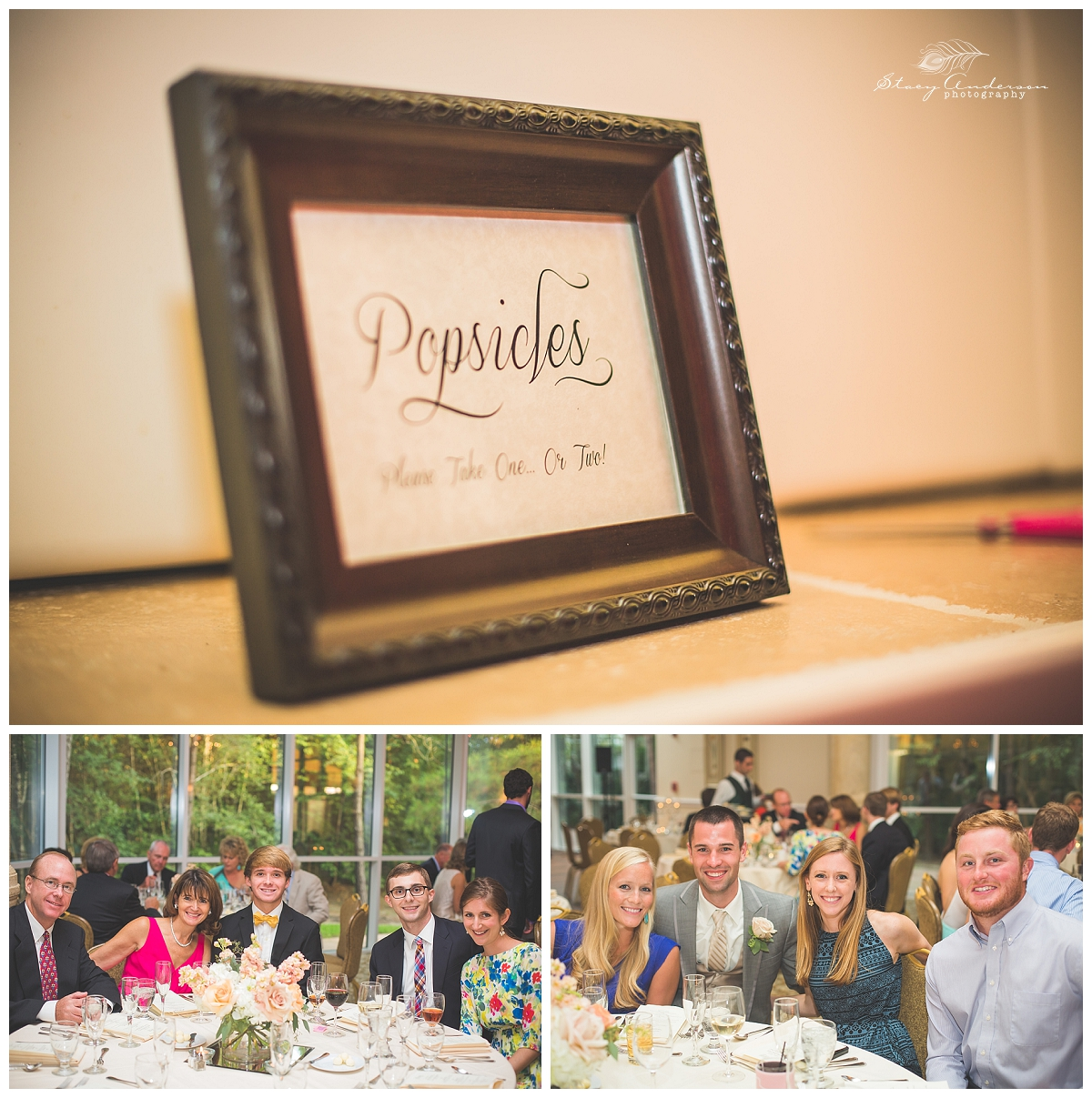 Popsicles are the perfect treat for a Texas summer wedding!