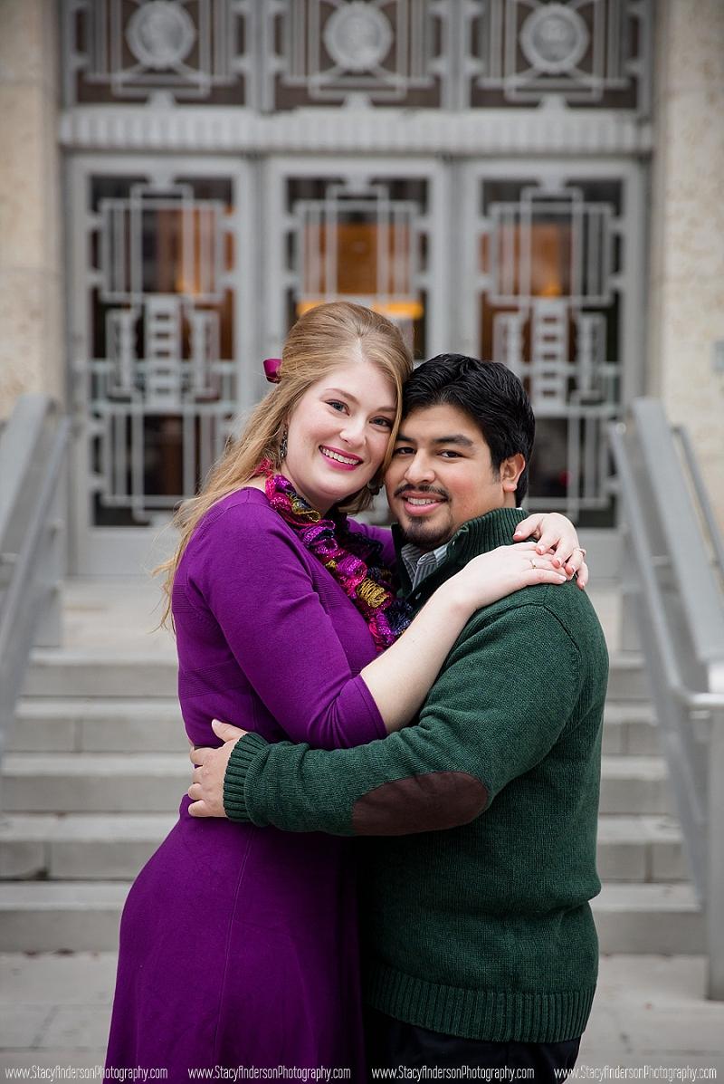 Julia Ideson Houston Library Wedding Photographer (12)