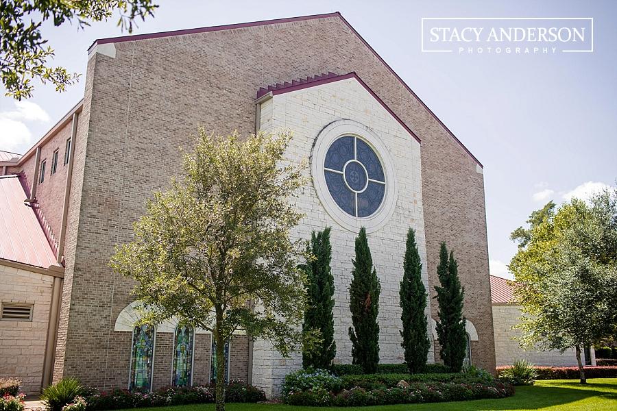 St John Vianney Catholic Church Houston Wedding Photographer (1)