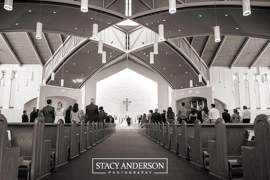 St John Vianney Catholic Church Houston Wedding Photographer (10)