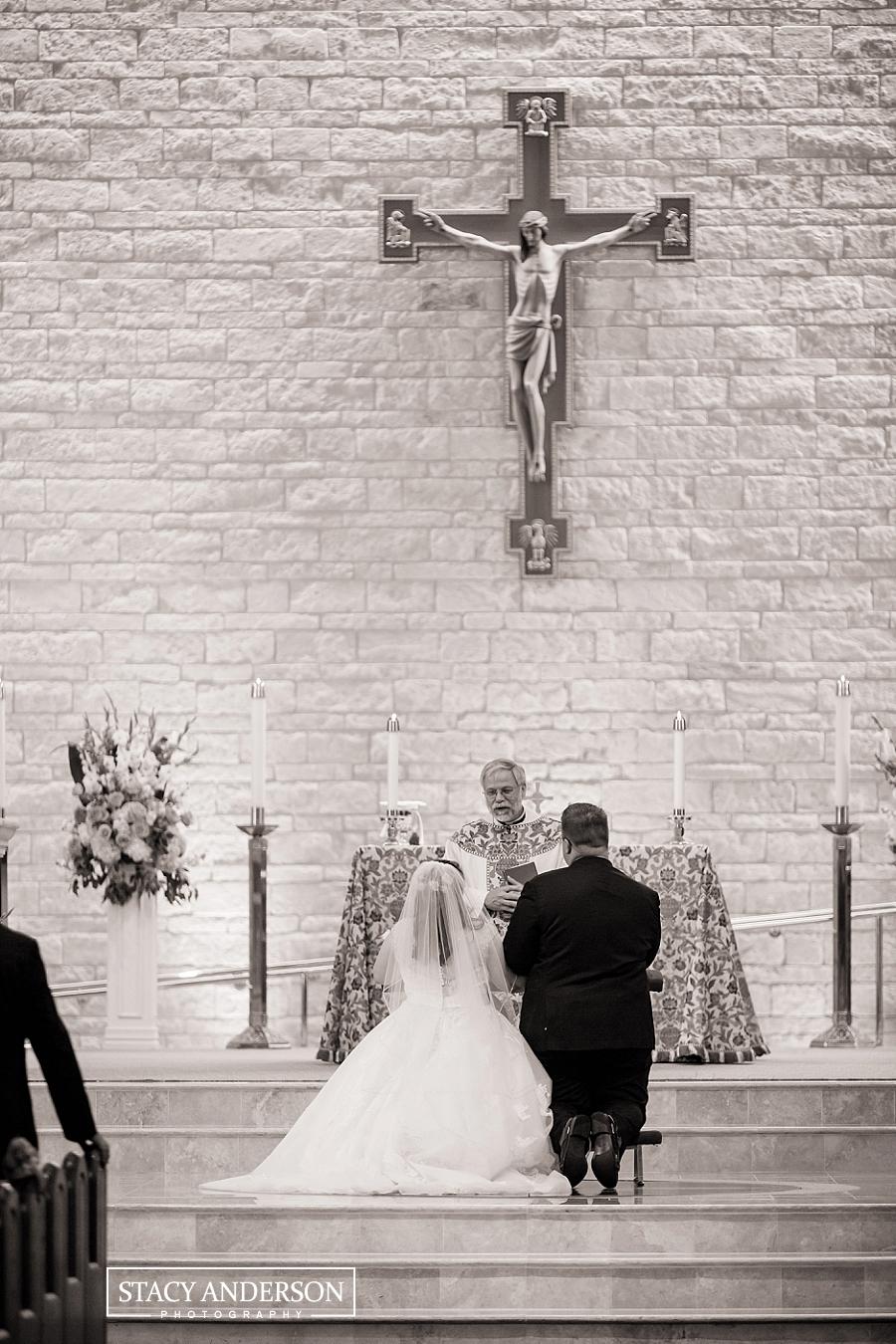 St John Vianney Catholic Church Houston Wedding Photographer (11)